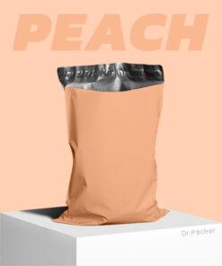 ซองไปรษณีย์สีส้มพีช ถุงไปรษณีย์สีส้มพีช